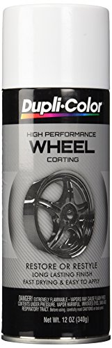 VHT HWP100 White Single Dupli-Color High Performance Wheel Paint