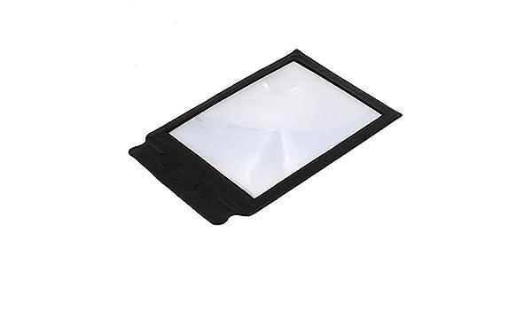 Bolsillo de tarjeta flexible de la lente de Fresnel Lupa A4 ...