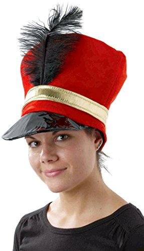 Forum Novelties Women's Toy Soldier Hat, Multi, One (Rockettes Toy Soldier)