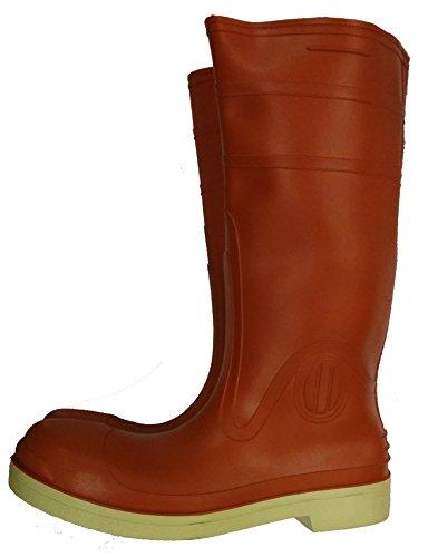 "Herco 15"" Steel Toe Rubber Rain Work Boots  - Men's Size 9"