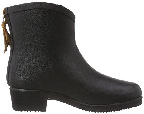 Juliette Bottilon Aigle Rubber Fur Miss Noir Boot g4paqUw
