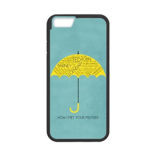 Fayruz- Personalized Protective Hard Textured Rubber Coated Cell Phone Case Cover Compatible with iPhone 6 & iPhone 6S - How I Met Your Mother F-i5G854