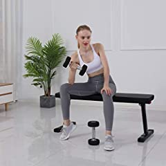 Flat Utility 600 lbs Capacity Weight Bench For Weight Training And Ab ExercisesFeature: 100% brand new and high quality . Quantity: 1pc. Material:Metal. Colour:Black. Size:41''X14.5''X17'' Applicable scene:Home interior. Weight:11500g/25lbs. ...