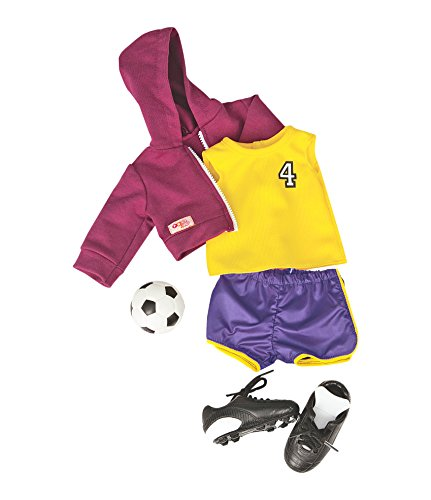 Battat Our Generation Team Player Soccer Outfit for 18-In...