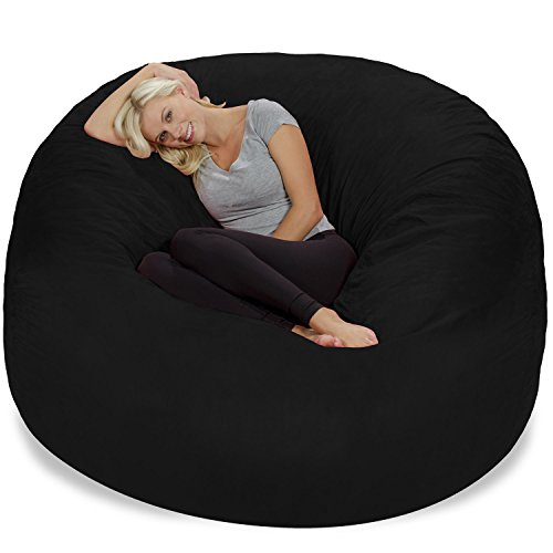 41 aUCRTNtL - Chill-Sack-Bean-Bag-Chair-Giant-6-Memory-Foam-Furniture-Bean-Bag-Big-Sofa-with-Soft-Micro-Fiber-Cover