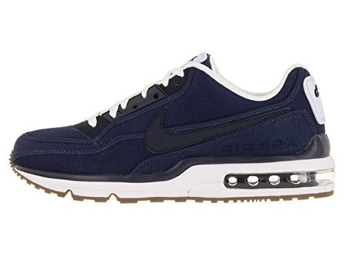 chaussures Nike Hommes Air Max Ltd 3 Txt Mi Marine / Obsidienne / Blanc /  Gm Foncé ...