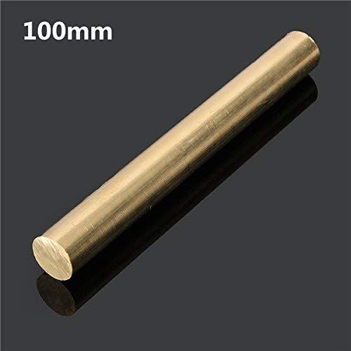 Rundstange, 12 mm x 100/200/330/500 mm, Messing, Rundrohr – 100 mm, 100mm