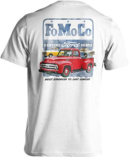 Vintage Ford Truck T-Shirt F100 Classic Pickup Genuine FoMoCo Parts Small to 6XL (3X-Large) - Rat Rod Clothes