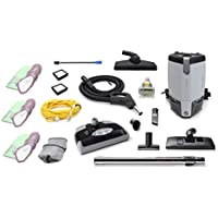 Fully Loaded More Powerful ProTeam ProVac FS6 6 QT Commercial Backpack vacuum Electric Power Head