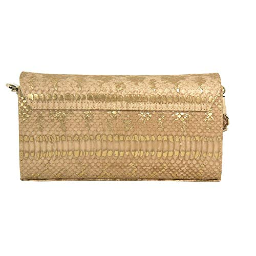 Peter Lanelle Skin Bag 99324 Nude Kaiser shoulder Clutch rwI0rf