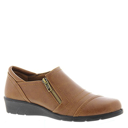 Easy Street Dames Zifter Lage Top Pull Op Fashion Sneakers, Tan, Maat 6.0