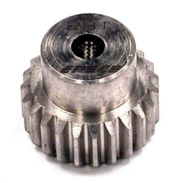 Integy RC Model Hop-ups C23423 Billet HD Stainless Steel 48 Pitch Pinion 23T for Brushless w/ 0.125 ()