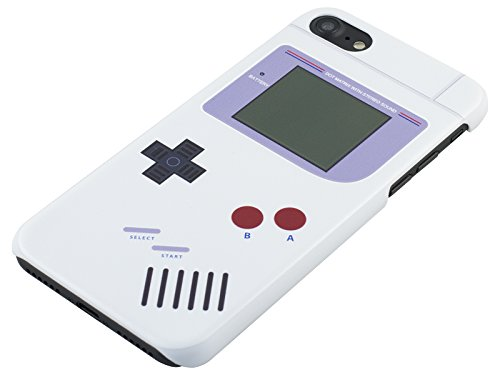 Nintendo Game Boy iPhone 7 Case by Rocketcases - Original Nintendo Game Boy Style - iPhone 7 Compatible - Slim Fit - Lightweight - Hard Shell - Retro Gamer Case - Retail Box Packaging