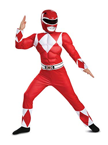 Disguise Red Ranger Classic Muscle Child Costume,