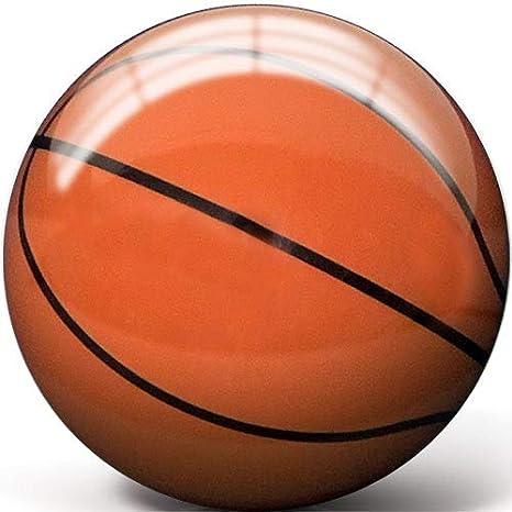 Pyramid - Pelota de Baloncesto Transparente, Clear w/Orange ...