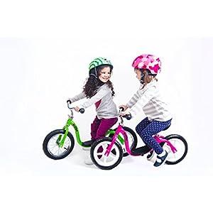 KaZAM v2e No Pedal Balance Bike, 12-Inch, Pink