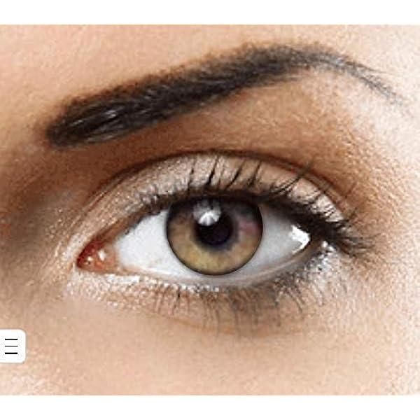 PHANTASY Eyes® HOLLYWOOD Lentillas de color natural (PURE HAZEL) PURO AVELLANNA 1 par (2 PIEZAS) - sin dioptrías + INCLUYE ESTUCHE GRATIS: Amazon.es: Salud y cuidado personal