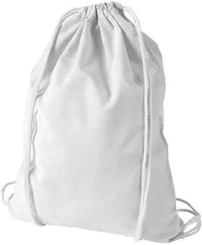Mochila de algodón Blanca para Pintar y diseñar.: Amazon.es: Equipaje