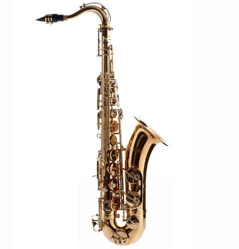Fever Tenor Saxophone Lacquered Gold with Case, Mouthpiece and Reed, WALTER