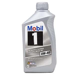Mobil 1 98KG00 0W-40 Synthetic Motor Oil - 1 Quart