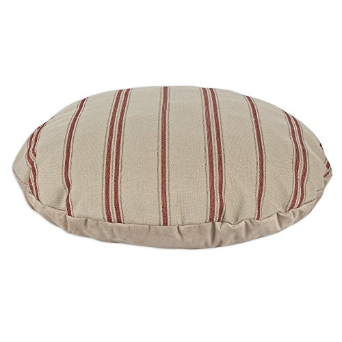 Brite Ideas Living & Company Rafting Pearl Round Pet Bed, 36-Inch