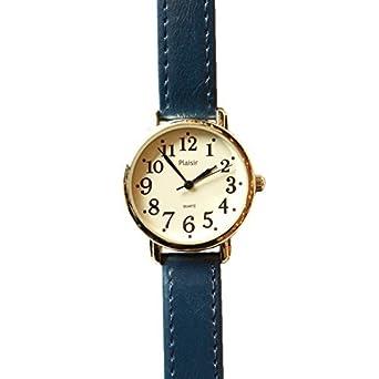 low priced 457a0 066a0 Amazon | [Plaisir]ニッケルフリーシンプル腕時計[ウォッチ ...