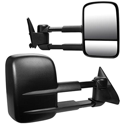 DEDC Chevy Tow Mirrors Fit For Chevy GMC C K 1988-1998 1500 2500 3500 Suburban Tahoe Yukon Pickup Truck Pair