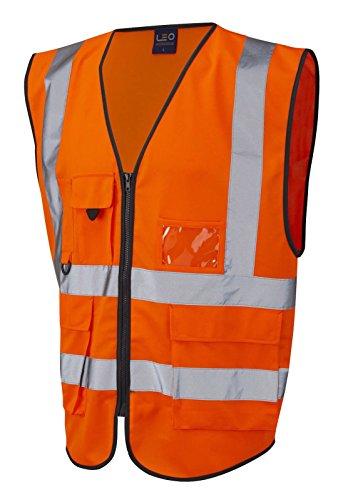Forever+Hi+Vis+Viz+Executive+Safety+Waist+Coat+Vest+Yellow+Work+Wear