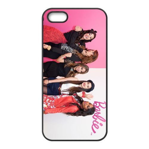 Fifth Harmony 001 2 coque iPhone 5 5S cellulaire cas coque de téléphone cas téléphone cellulaire noir couvercle EOKXLLNCD23684