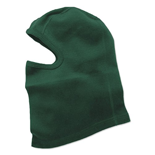Minus33 Merino Wool Clothing Unisex Midweight Wool Balaclava, Forest Green, One Size by Minus33 Merino Wool (Image #2)