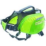 Outward Hound Kyjen  22002 DayPak Dog Backpack Adjustable Saddlebag Style Dog Accessory, Small, Green