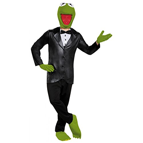 Deluxe Kermit Costume - X-Large - Chest Size 42-46