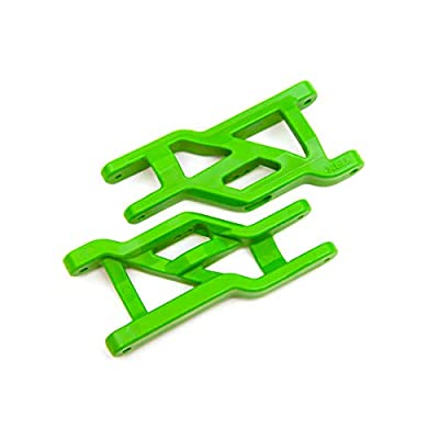 Traxxas 3631G Suspension arms, Front (Green) (2) (Heavy Duty, Cold Weather Material): Toys & Games