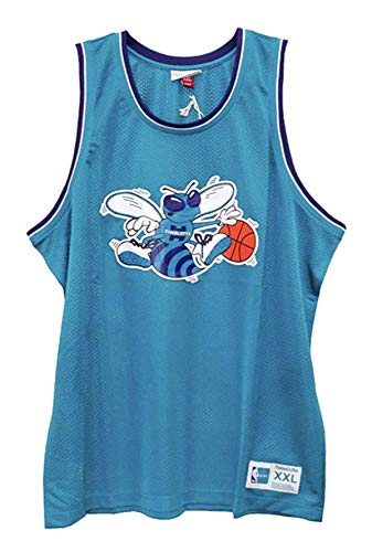 - Charlotte Hornets Men's Teal Mesh Tank Top (3X)
