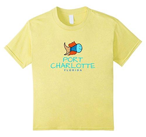 Kids Port Charlotte Florida T-Shirt, FL Fun Fish T-Shirt 10 - Charlotte Port