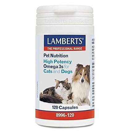 Lamberts 8996-120 Pet nutrition (omega 3 alta potencia para gatos y perros)