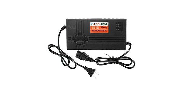 Amazon.com: 60 V 20 AH cargador de batería para Scooter ...