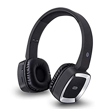 GAX Auriculares Estéreo Bluetooth Auricular, Plug and Play, Ligero, Hi-Fi Estéreo De Auriculares Inalámbricos para TV/Móvil/PC,Black: Amazon.es: Deportes y ...