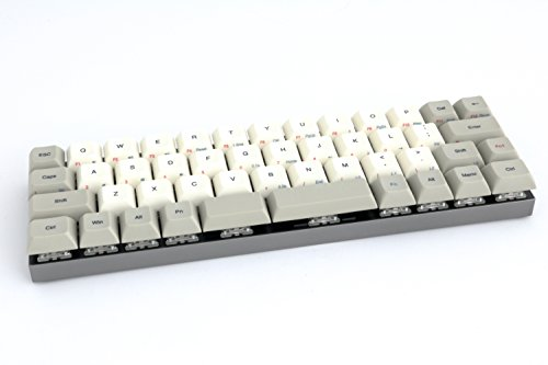 Vortex Core 40% - Dark Grey CNC Case - PBT DSA Keycaps - Cherry Mx-Brown [CNC Aluminium Casing]
