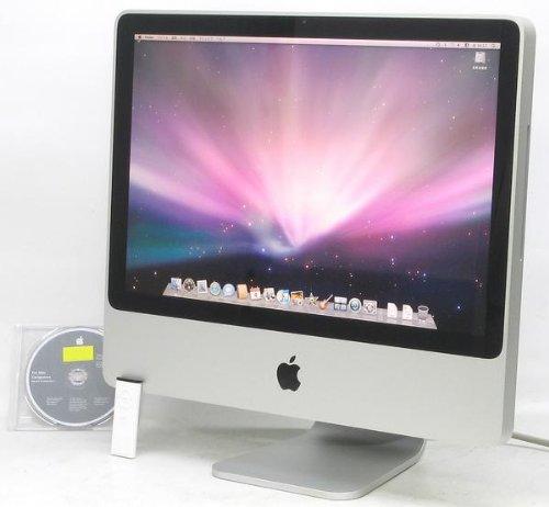 アップル iMac 20インチ 2.66GHz Intel Core 2 Duo MB324J A