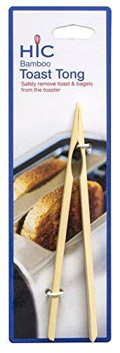 HIC Bamboo Toast Tong