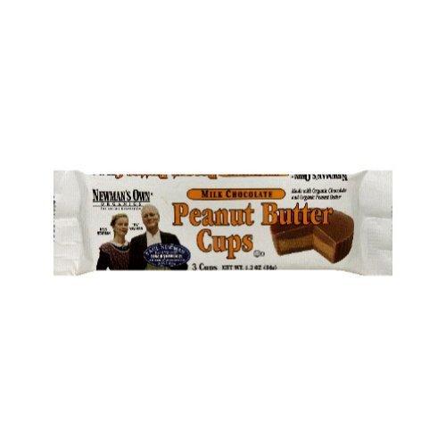 Newmans Own Organic Chocolate Cup Milk Peanut Butter, 1.2 lb