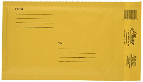 Alliance Rubber Air Bubble - Alliance Rubber Company Kraft Bubble Mailers (10801)