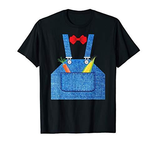 Farmer Halloween Costume Shirt Fun For Trick or Treating ()