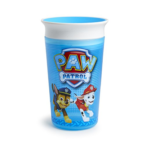 9 Ounce Sippy Cup (Munchkin PAW Patrol Miracle 360 Sippy Cup, Blue, 9 Ounce)