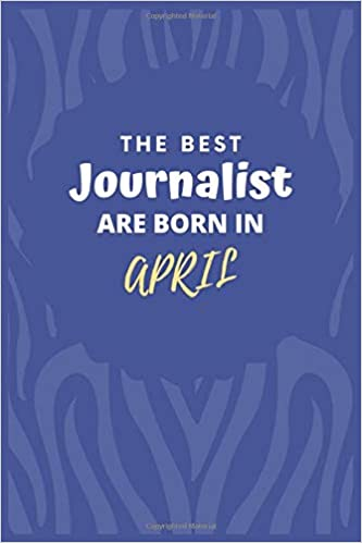 the best journalist are born in journalist gift notebook a