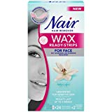 Best Nair Hair Removal Creams - Nair Wax Ready-Strips for Face with Soothing White Review