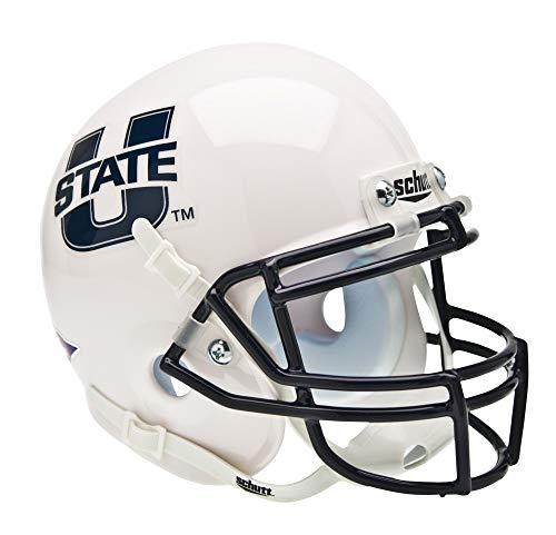 Schutt NCAA Utah State Aggies Mini Authentic XP Football Helmet, Classic
