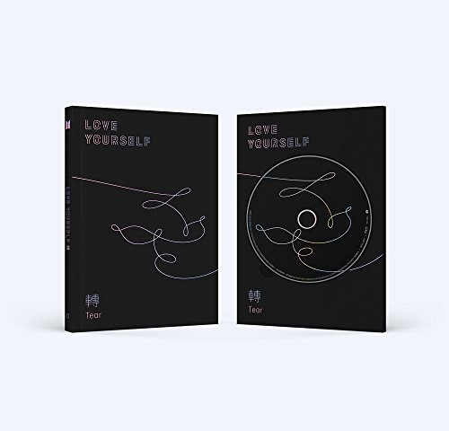 BigHit BTS - LOVE YOURSELF 轉 Tear [O ver.] (Vol.3) CD+Photobook+Mini Book+Photocard+Standing Photo+Folded Poster+Free Gift