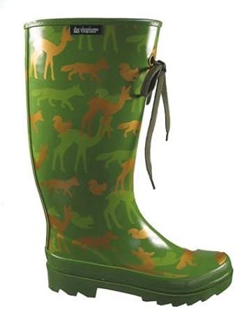 Im Waldtiere Camouflage Vivariumhardy´s Gummistiefel Stil GrM 7gbf6y